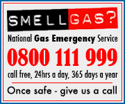 Smell Gas 0800 111 999